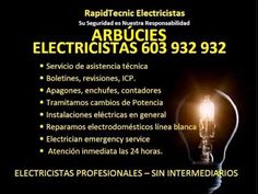 Electricistas Arbúcies 603 932 932 Baratos