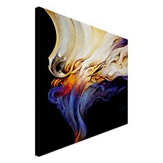 Stretched Canvas Art Abstract Evoke by CH Studios Ready to Hang – AUD $ 35.74