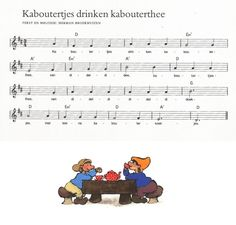 *▶ LIEDJE: Kabouters drinken kabouterthee...