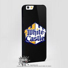 White Castle Hamburgers Logo For Apple, Iphone, Ipod, Samsung Galaxy Case
