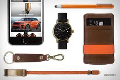 Kyte and Key Luce Wallet ($99). Kyte and Key Twins Cablet ($99). Uncrate App ($FREE). Makr Key Chain ($55). Wacom Bamboo Stylus ($20). Void V03D Watch ($215). Presented by Kyte and Key....