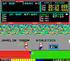 play konami track and field online free
