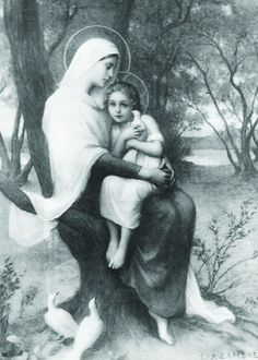 St. Anne and Mary as a child