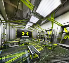 UNDER ARMOUR Showroom Concept on Behance