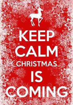 Christmas is coming soon! Hope everyone is prepared for all the festive events and gifts to be sending!