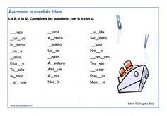actividades de ortografía para imprimir
