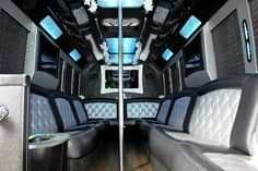 71 Best Inside A Party Bus Images On Pinterest Limo
