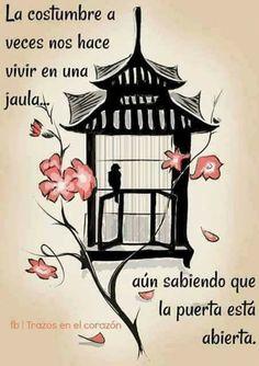 Life quotes - y reflexiones positivas Wisdom Quotes, True Quotes, Book Quotes, Words Quotes, Wise Words, Qoutes, Deep Quotes, Spanish Inspirational Quotes, Spanish Quotes