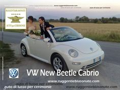 New Beetle Cabrio per Matrimoni