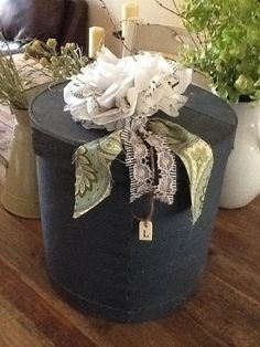 Shabby Chic Wedding Memory Box and Photo Albums  by LoveandViolet, $75.00