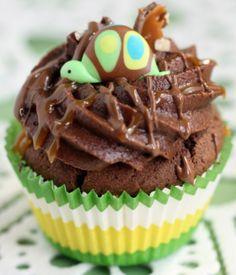 DIY Turtle Cupcakes - sweetopia.net