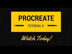An Update That Amazes! Procreate Tutorial 9