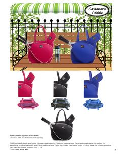 Court Couture 2014 Catalog Pg. 5 Tennis Bags, Catalog, Couture, Fashion, Moda, Fashion Styles, Brochures, Haute Couture, Fashion Illustrations