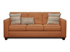 Fusion Living Room Fandango Flame Sofa 046148 - Furniture Fair - Cincinnati & Dayton OH and Northern KY