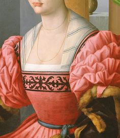 Portrait of a Woman with a Book of Music by Francesco Bacchiacca