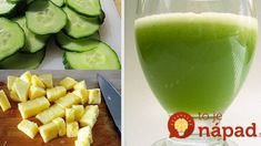 Recipe: This lemon cucumber juice is the most effective for burning belly fat - Diet Doctors Belly Fat Diet, Burn Belly Fat, Home Detox, Belly Fat Burner, Cucumber Juice, Abdominal Fat, Flat Tummy, Health Tips, Smoothies