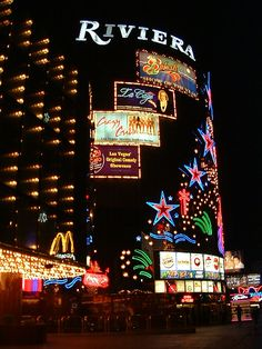 The Riviera Hotel and Casino Resort on the Las Vegas Strip... featuring the LaCage and Crazy Girls shows riviera_night.jpg (480×640)