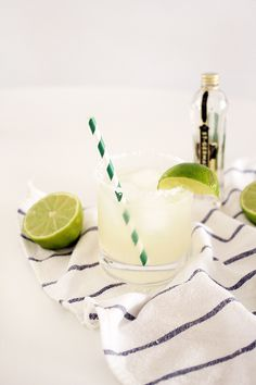 A simple and delicious St. Germain Margarita recipe that puts a nice spin on this classic drink.