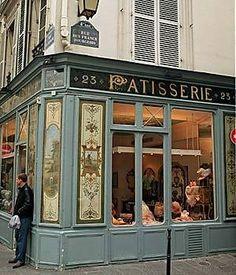 Patisserie where Carmelita apprenticed, Left Bank Paris