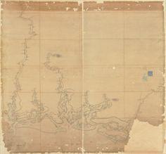 1780s Map of Coastal Georgia