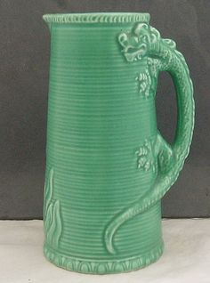 Sylvac large jug with dragon handle