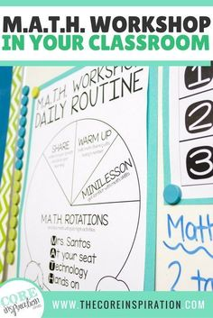 Workshop is my dream come true.no joke. Since implementing this instructional framework in my second and third grade classes, my students are more engaged and independent, I spend less time prepping, and I have a better sense of where my studen Math Rotations, Math Centers, Numeracy, Third Grade Centers, Daily 5 Math, Fifth Grade Math, Daily 3 Math Third Grade, Grade 3, Fourth Grade
