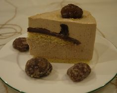 Creamy Chestnut Mousse Cake