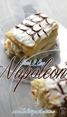 Napoleon-Tower Cake Pastry