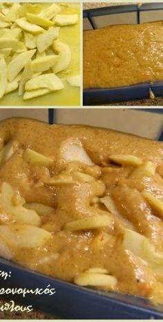 Νηστίσιμο κέικ μήλου στο μπλέντερ ή στο multi! (VIDEO) - cretangastronomy.gr Apple Cake Recipes, Cooking Recipes, Healthy Recipes, Healthy Foods, Vegan Sweets, Something Sweet, Apple Pie, Sweet Recipes, Macaroni And Cheese