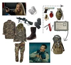 """Battle In Shangai"" by onlyhuman123 ❤ liked on Polyvore featuring Ko Fashion, Retrò, Urban Renewal, Object Collectors Item, Victorinox Swiss Army, Vila Milano, Topshop and Rothco"