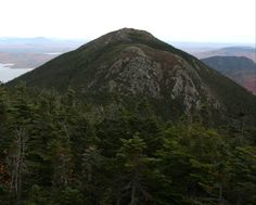 Mont Every, Massif Bigelow, Maine, USA, octobre 2016