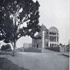 Largo de São Sebastião. Manaus. Álbum do Amazonas 1901-1902.