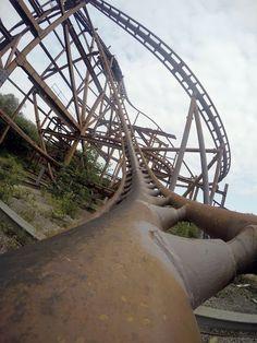 Exploring the creepy abandoned Theme Park: Camelot!   http://www.theroamingrenegades.com/2015/07/exploring-abandoned-theme-park-camelot.html