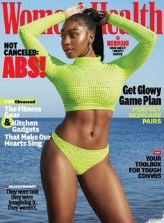 Pop Crave (@PopCrave) / Twitter Latest Health News, Black Magazine, Womens Health Magazine, Green Bikini, Workout Gear, Weight Loss Tips, Norman, Abs, Bikinis
