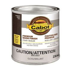 Cabot Premium Wood Finish Interior Stain and Sealer