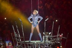 Lady Gaga's Super Bowl performance was a hit as she danced with drones performed her most popular songs. The aftermath however took a political turn.