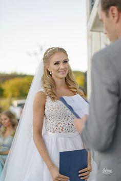 Emocionante a troca de votos de Bárbara e Anderson  Flor de Lis - Assessoria de Casamentos
