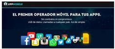 UppMobile lanza servicio móvil para smartphones en España