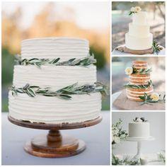 minimalist cake collage