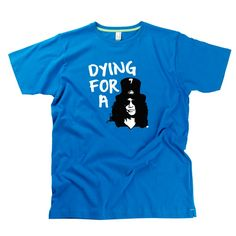 Dying For A Slash Gent's T-Shirt by Hairy Baby