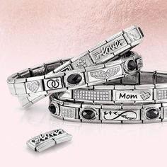 Nomination Charms, Nomination Bracelet, Fashion Accessories, Jewels, Bracelets, Instagram Posts, Gifts, Stuff To Buy, Jewellery