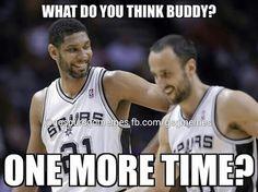 Spurs Tim Duncan & Manu Ginobili