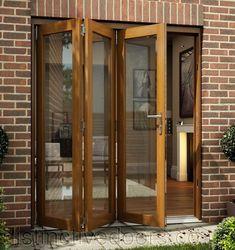OakFold Bifold Folding Sliding Patio Doors