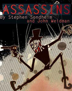 """""""Assassins"""" by Stephen Sondheim"""