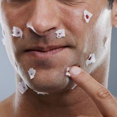 What to do when you cur yourself while shaving http://bestrazorformen.net/useful-shaving-tips/what-to-do-when-you-cut-yourself-while-shaving/