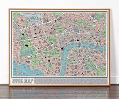 This Map Will Delight Book Lovers Everywhere - it features over 600 works from literary history, from Charles Dickens to Roald Dahl.