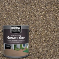 BEHR Premium 1 gal. #GG-14 Autumn Mountain Decorative Concrete Floor Coating