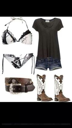 Country. i love the swim suit!