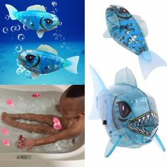 Can Swims Educational Electronic Fish Activated Battery Powered Toy Childen Electronic Pet Holiday Gift Electronic Pets