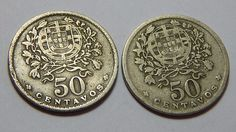 PORTUGAL 1942 All Currency, Old Coins, Coin Collecting, Portugal, Personalized Items